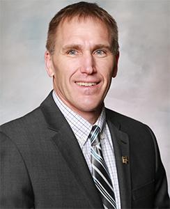 Head-shot of Al Wulfekuhle, Iowa Pork Producer Association President
