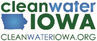 Logo of Clean Water Iowa, a partner of the Regional Conservation Partnership Program with IAWA