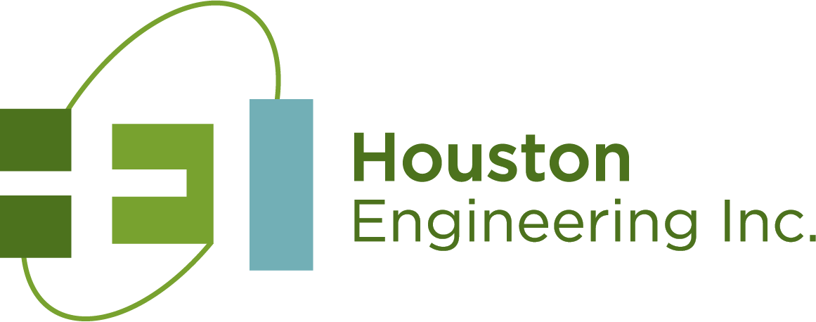 Houston Engineering Inc. logo, IAWA Business Council participating company