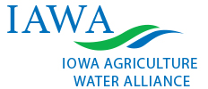 Iowa Agriculture Water Alliance green and blue logo