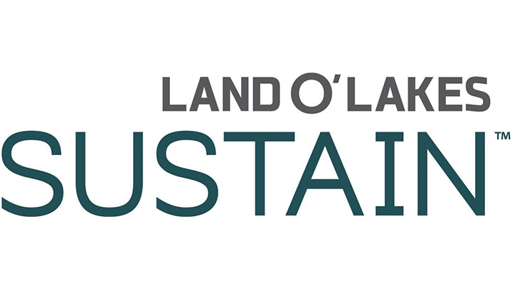 Land O' Lakes Sustain logo, plain text