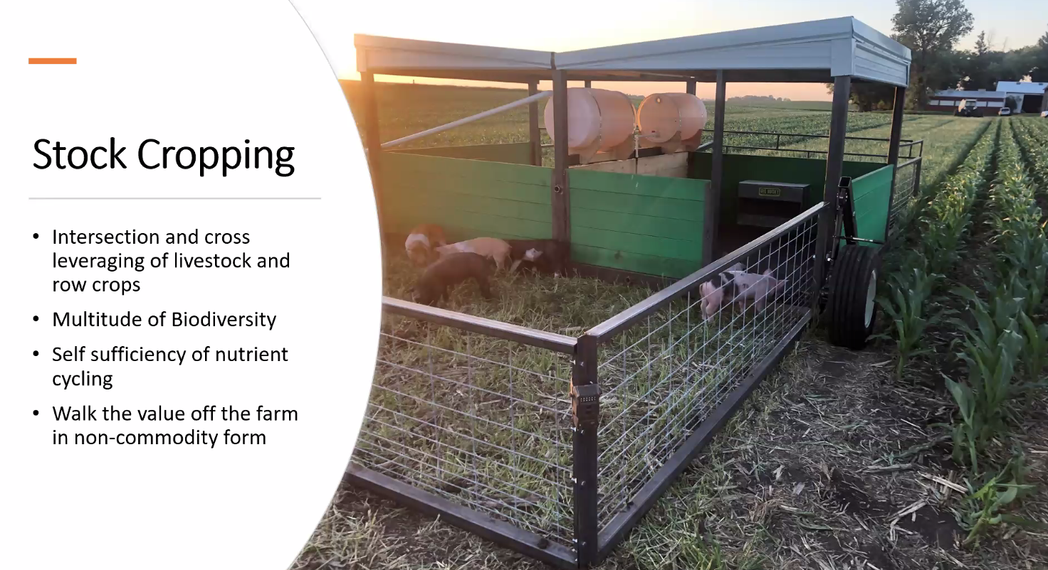 Four main benefits of stock cropping.