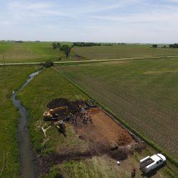 Aerial Shot of Bioreactor in Iowa