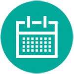 Turquoise Events Icon