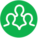 "Green ""IAWA Advisory Council"" icon"