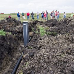 Saturated Buffer Installation at Tom Vincent's farm